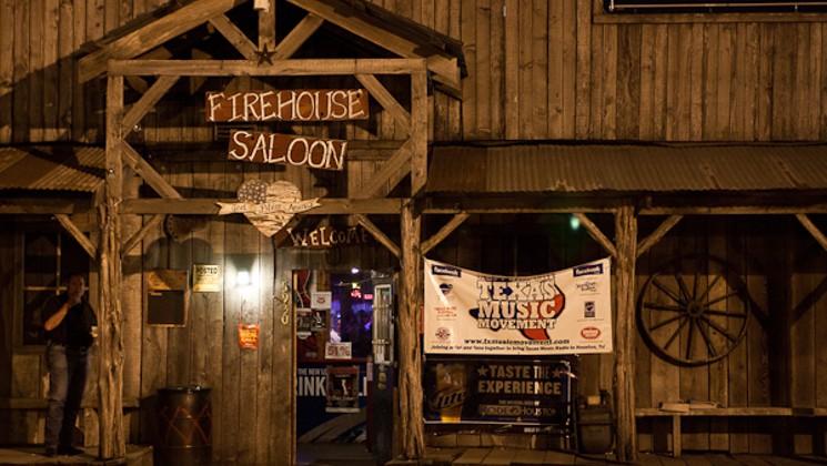 Dean Dillon at the Firehouse Saloon