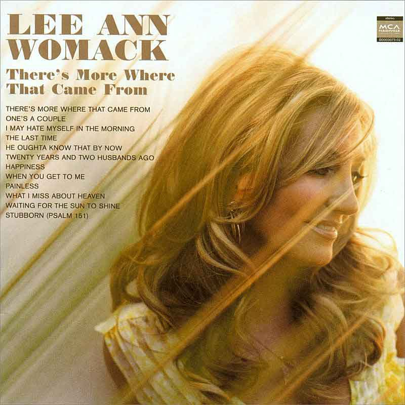 Lee Ann Womack - Dean Dillon